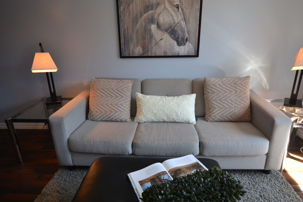 home living room and family room furniture couches light grey fabric